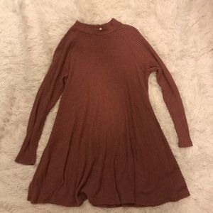 Sweater t-shirt dress